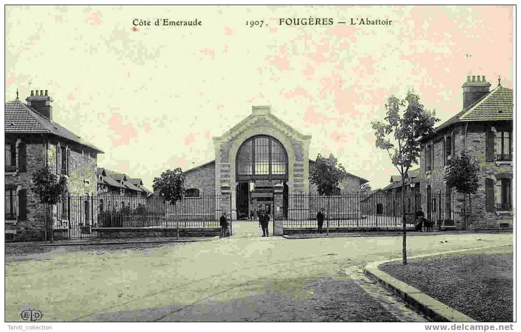 FOUGERES - L'Abattoir - Fougeres