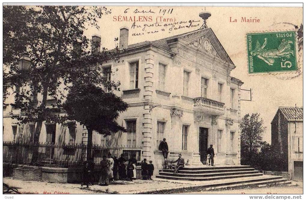 SEMALENS - LA MAIRIE - Francia