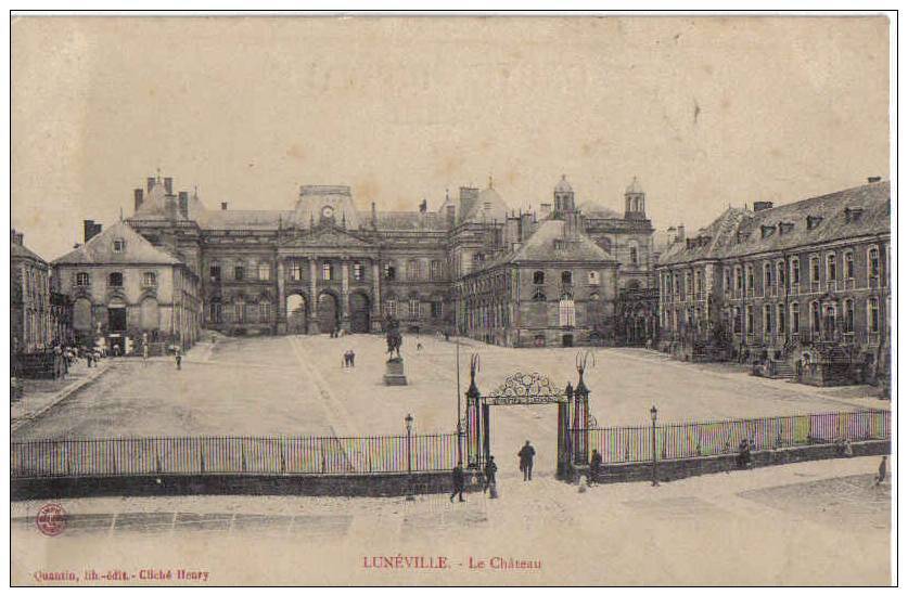 Lunéville-le Chateau - Luneville