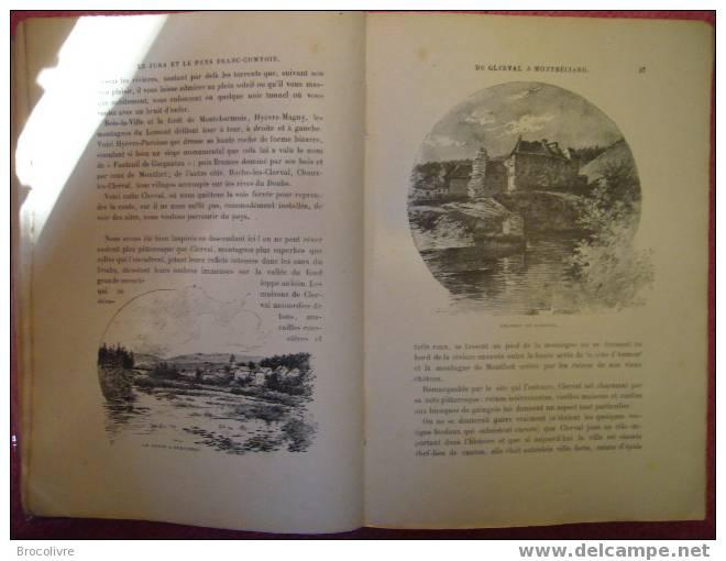 Le Jura Et Le Pays Franc-Comtois,par Gustave Fraipont. - Franche-Comté