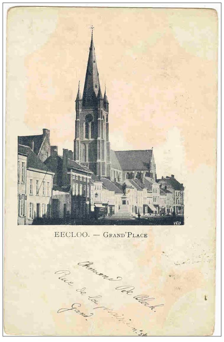 EECLOO  -  GRAND' PLACE - Eeklo