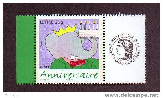 France 2006 - N° 3927A ** (logo Céres) - Anniversaire - Babar - Personalized Stamps