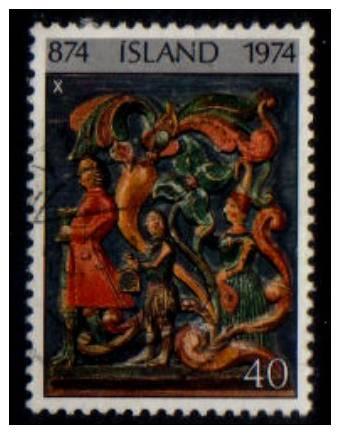 ICELAND   Scott: # 468   VF USED - Iceland