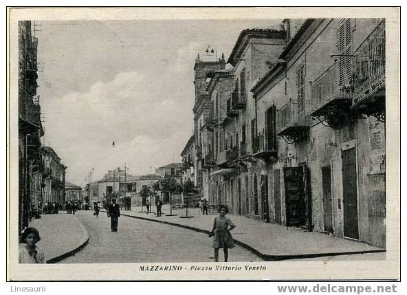 MAZZARINO - PIAZZA VITTORIO VENETO - Caltanissetta