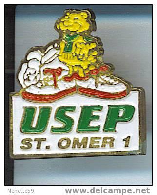Pin´s SAINT OMER 1 - USEP ( Dép 62 ) - Villes