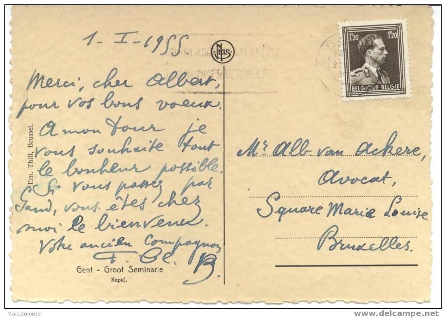 Gent. Gand. Groot Seminarie, Kapel. Grand Séminaire, Chapelle. Postzegel - Timbre N° 845. - Gent