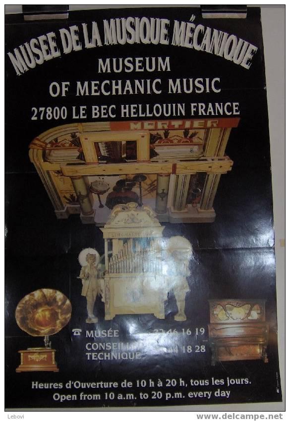 LE BEC HELLOUIN - Musée De La Musique Mécanique - Plakate & Poster