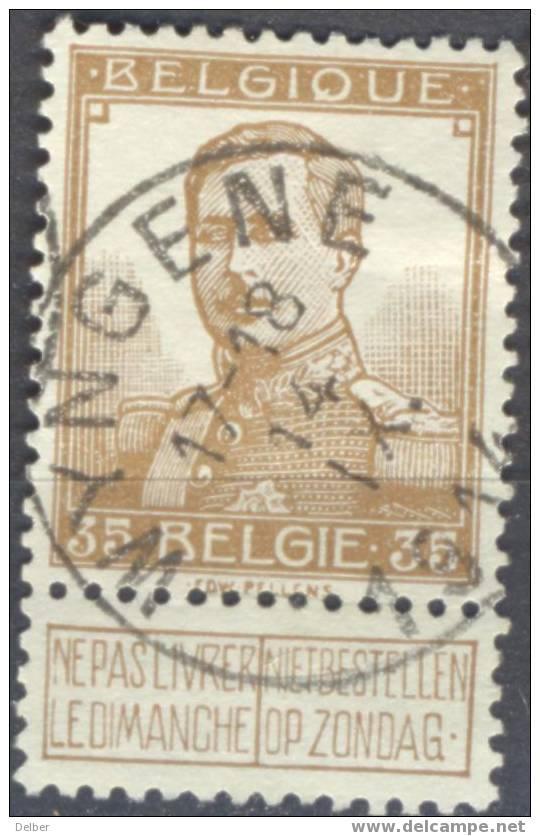 Gk861: N° 113 : [°]: E18: WYNGHENE: Periode Inval Duitsers: Op 14.X.1914 Bezet - Invasion