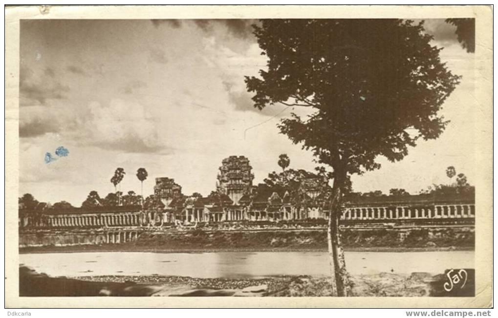 Cambodge - Notre France Lointaine - Angkor-Vat - Vue Prise Du Bungalow Façade Extérieure - Cambodge