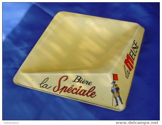 """Cendrier """"BIERE LA MEUSE"""" La Spéciale. - Cendriers"""