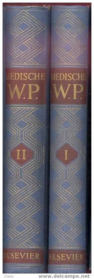 Medische  Winkler Prins Encyclopaedie, Anno 1954-55 - Enzyklopädien