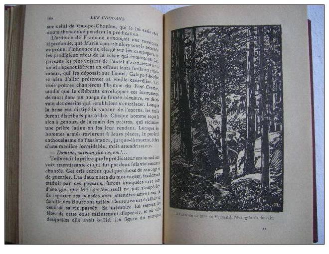 Les Chouans Honoré De Balzac Bibliothèque Juventa Librairie Delagrave 1928 - Livres, BD, Revues