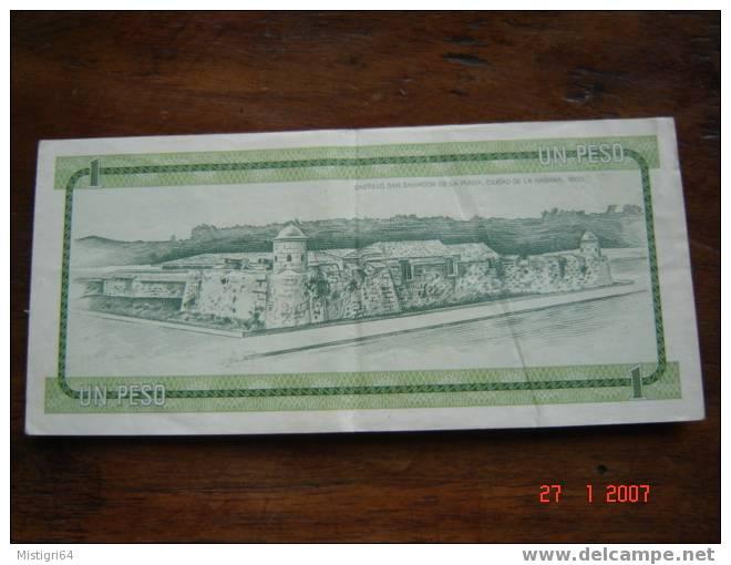 1 PESOS SERIE B NON DATE 1985 - Cuba