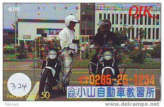MOTORSPORT MOTOR Sur Telecarte Japan (324) - Sport