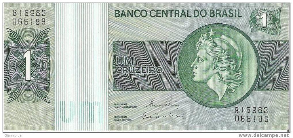 Brazil - Banknote/Billet De 1 Cruzeiro - Brésil