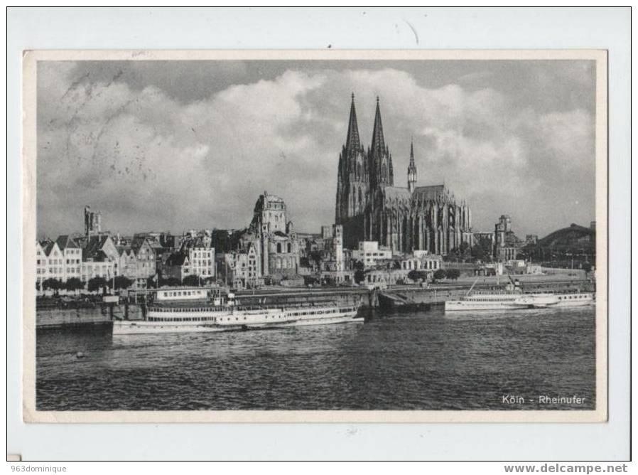 Köln - Rheinufer - Koeln