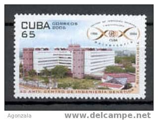 TIMBRE NOUVEAU CUBA CENTRE INGÉNIERIE GÉNÉTIQUE Et BIOTECHNOLOGIE - MNH - Ciencias