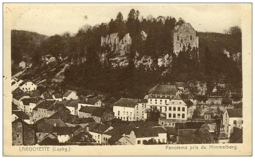 LUXEMBOURG - LAROCHETTE - Panorama Pris Du Himmelberg - Larochette