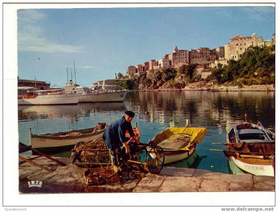 6399 Bastia Vieux Port . Iris 20.033.109 Bateau Peche Catherine - Bastia