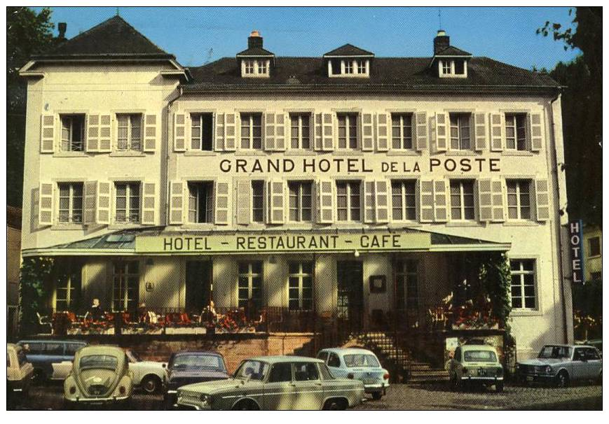 LUXEMBOURG - LAROCHETTE - Grand Hôtel De La Poste - AUTOMOBILES - Larochette