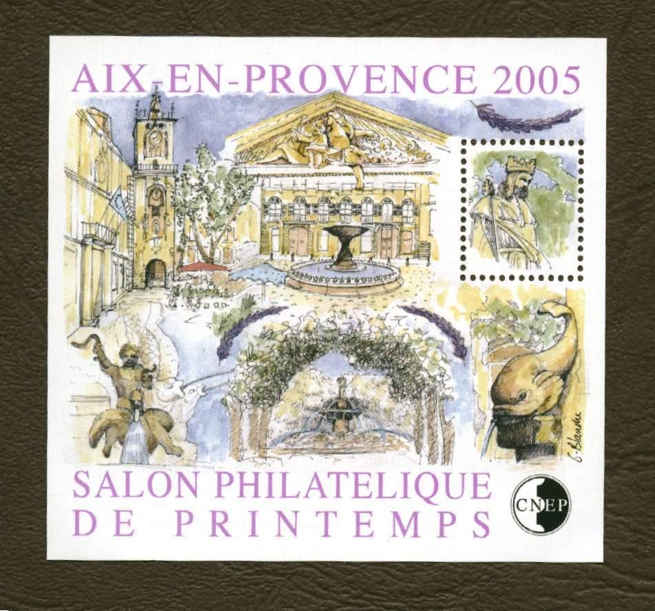 France ** CNEP - Bloc Aix En Provence . - CNEP