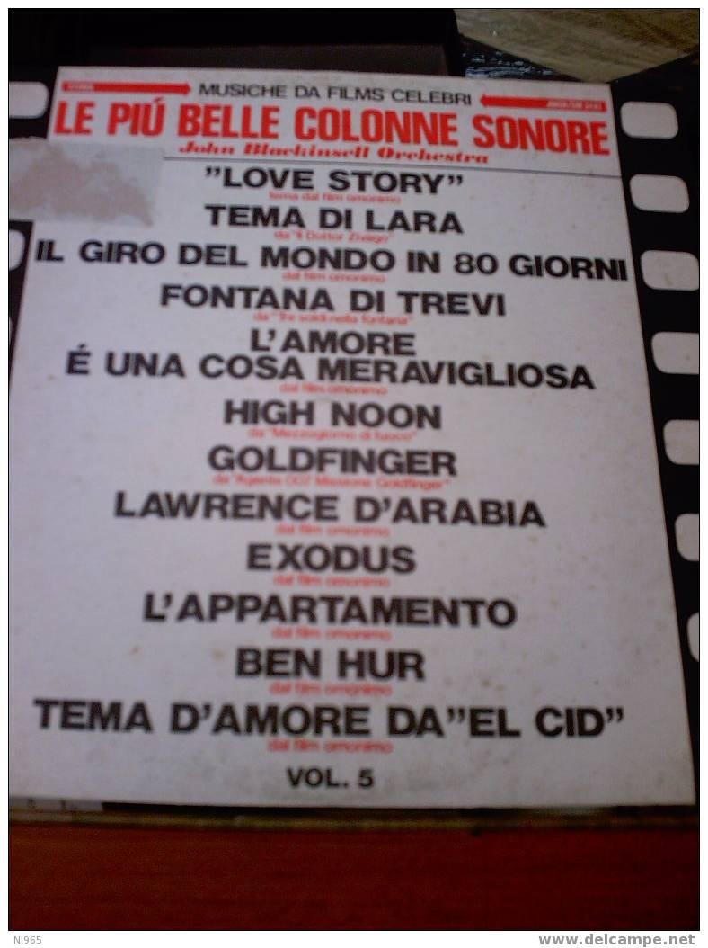 COLONNE SONORE + JAZZ - N 2 LP 33 GIRI .... - Vinyl Records