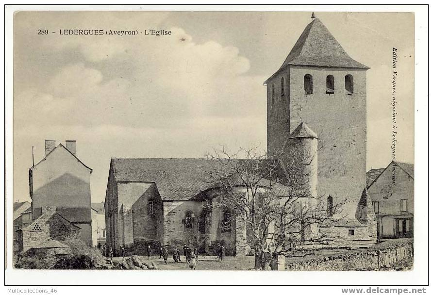 12 - LEDERGUES - L'Eglise. - Francia