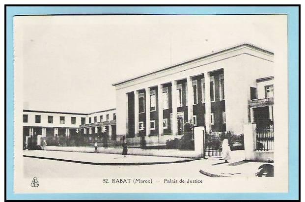 A 45 Rabat  Palais De Justice - Rabat