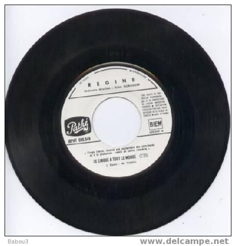 SP REGINE ** LE CIRQUE A TOUT LE MONDE   JUKE BOX - Vinyles