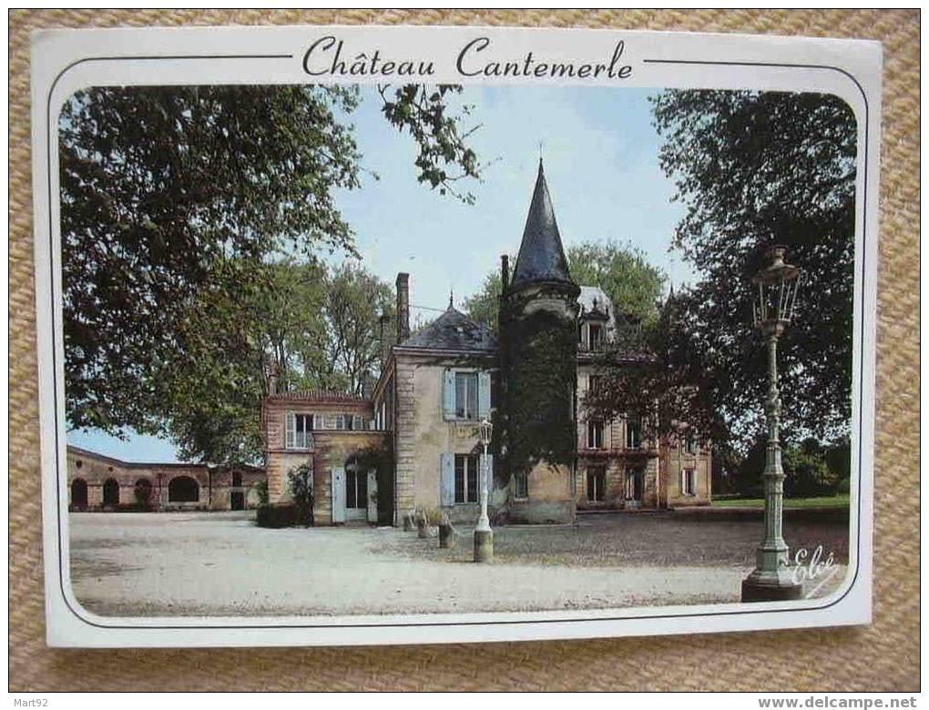 33 MACAU EN MEDOC CHATEAU CANTEMERLE - France