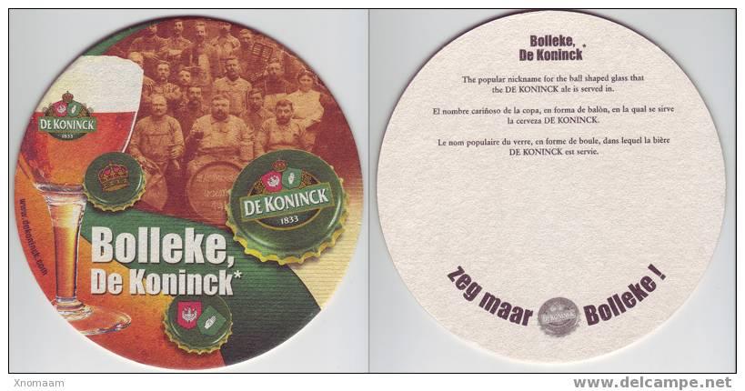 Sous Bock - De Koninck Personnages - Biere Bier Beer - Sous-bocks