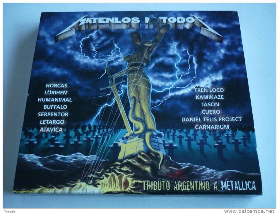 MATENLOS A TODO Tributo Argentino A METALLICA CD - Hard Rock & Metal