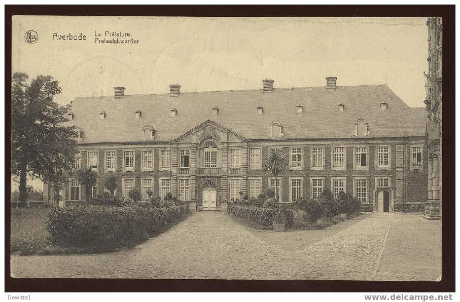 CPA  Averbode  Prelaatskwartier - Scherpenheuvel-Zichem