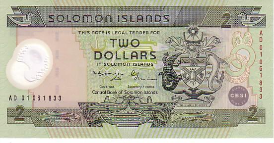 SOLOMON ISLANDS   2 Dollars Non Daté (1987)   Pick 18      *****BILLET  NEUF***** - Salomonseilanden