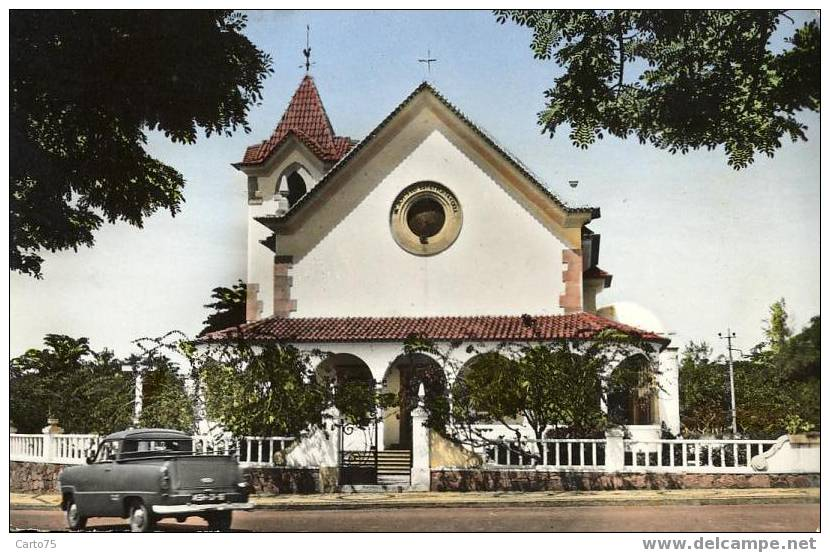 ANGOLA - LOBITO - CONGO BELGE - Chapelle Of NaSa Da Arrabida - Angola