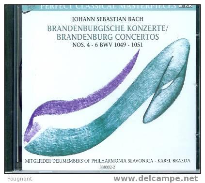 CD:Johann Sebastian BACH:Concertos Brandebourgeois N°4-5-6.Orch.Philarmoniqu E Slavonica. 55min.09. - Klassik