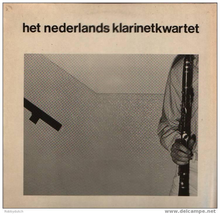 * LP * HET NEDERLANDS KLARINETKWARTET (Hand Signed) Ex-!!! - Autogramme