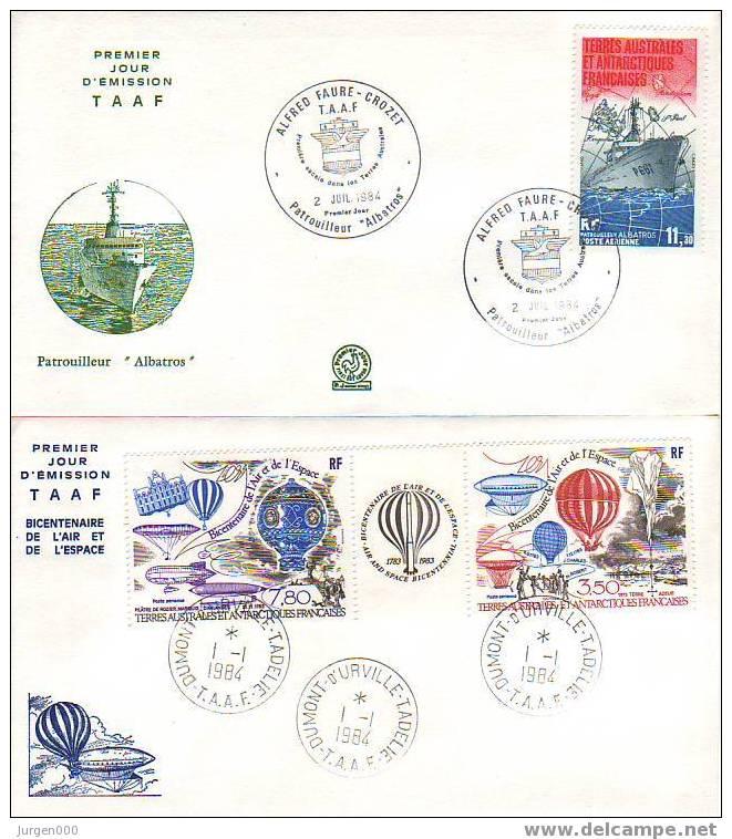 Nr 192/194 FDC (Y10400) - Terres Australes Et Antarctiques Françaises (TAAF)