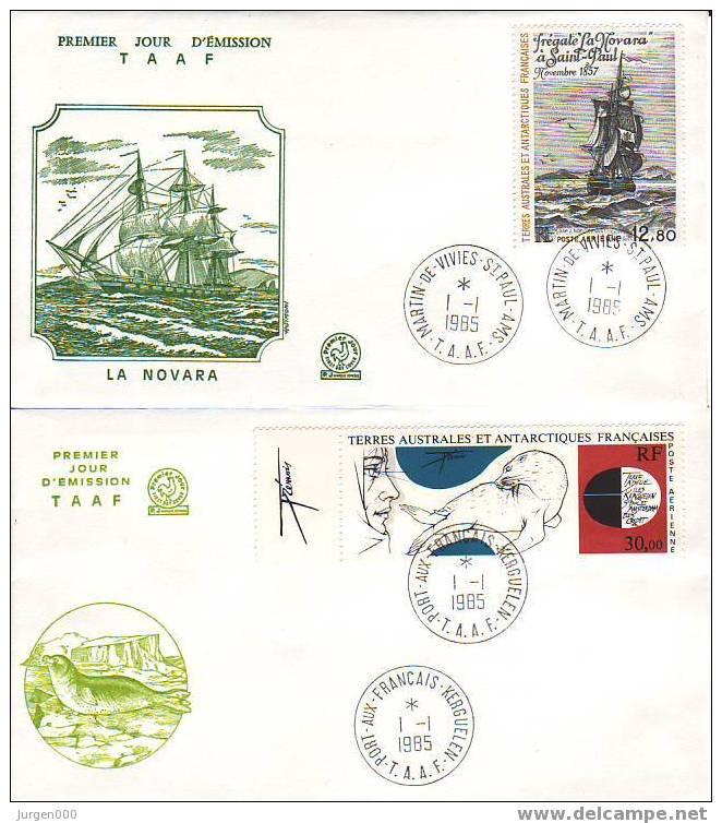 Nr 204/205 FDC (Y10401) - Terres Australes Et Antarctiques Françaises (TAAF)