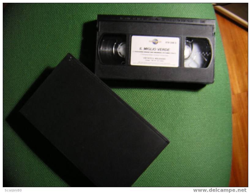 VHS-IL MIGLIO VERDE Tom Hanks Originale - Dramma