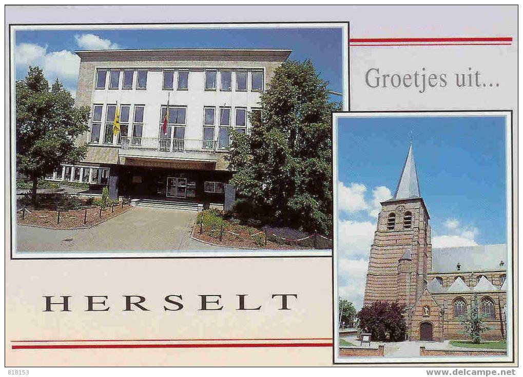 HERSELT  Groetjes Uit.... - Herselt