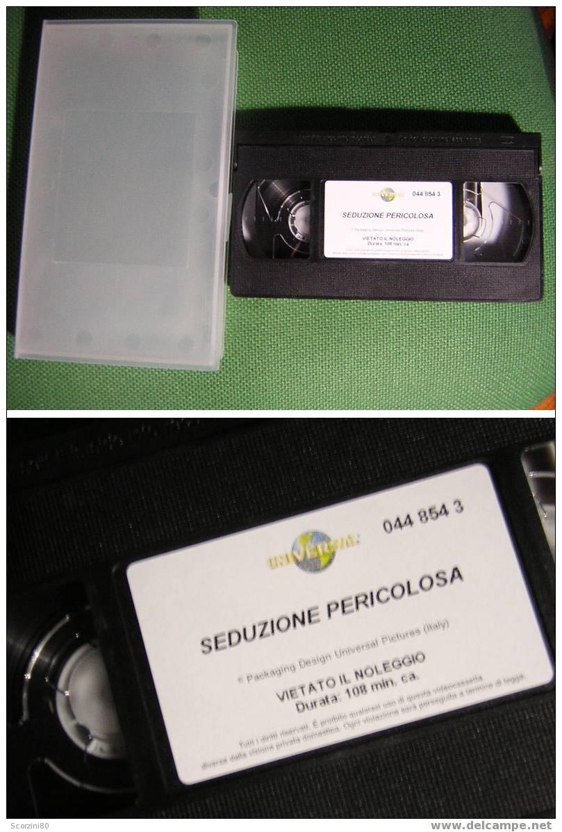 VHS-SEDUZIONE PERICOLOSA Originale - Dramma