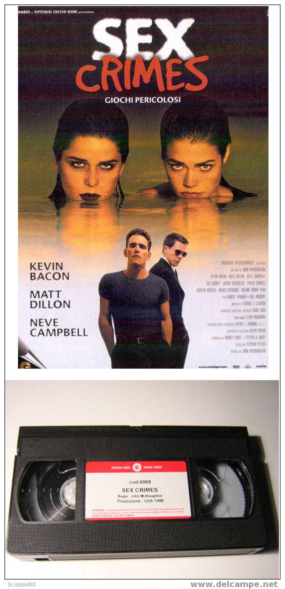 VHS-SEX CRIMES Originale - Dramma