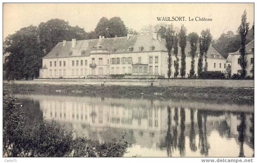 BELGIQUE - WAULSORT - Le Château - Hastière