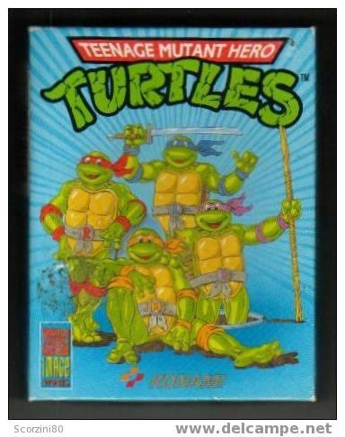"Commodore 64 ""Turtles-Tartarughe Ninja"" - Electronic Games"