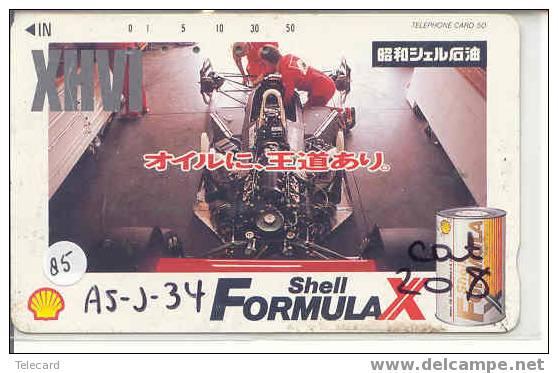 Télécarte AYRTON SENNA (85) Formula 1 Voiture Auto Car Racing Phonecard Japon - Bergen