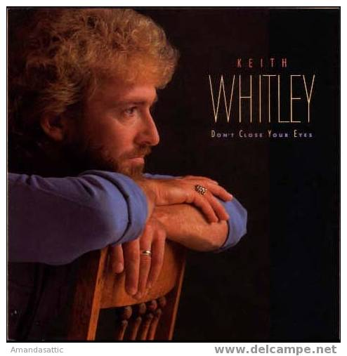 """KEITH WHITLEY, CD, """"Don´t Close Your Eyes"""", 12 Cuts, M-, 1988, RCA - Country & Folk"""