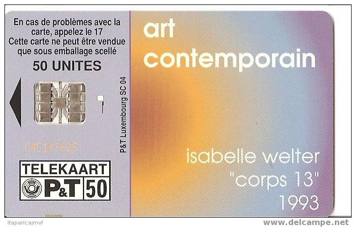 Art Comptemporain - Luxembourg