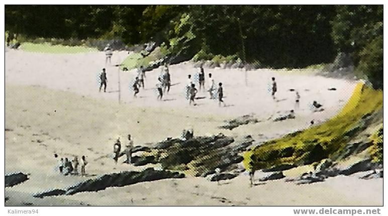 MORBIHAN  /  CROMENACH  /  LE CAMPING ET LA CÔTE SAUVAGE   ( Partie  De  BEACH-VOLLEY = VOLLEYBALL ) - Volleyball