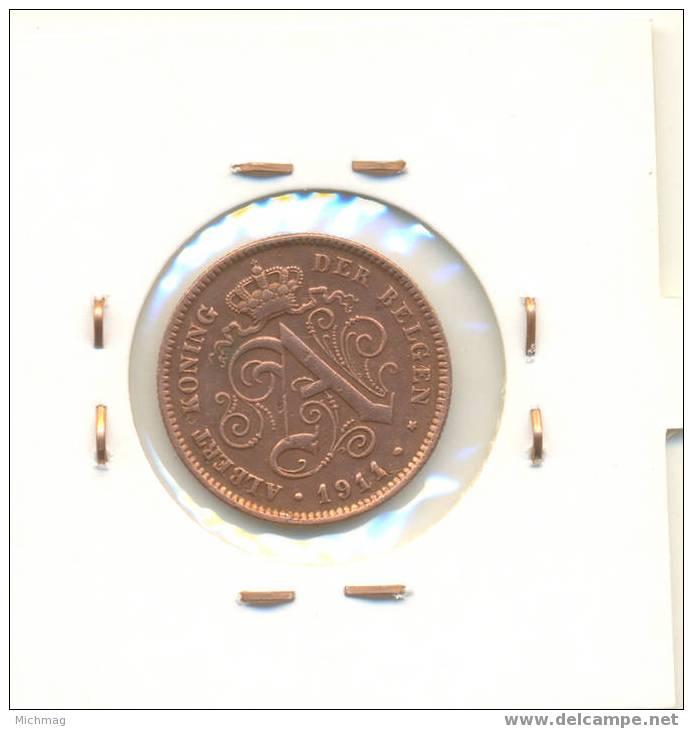 2 Cent 1911 FL  Albert 1ér - 1909-1934: Albert I